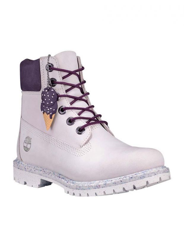 TIMBERLAND 6-Inch Premium Waterproof Boot Ice Cream - A1VZU - 3