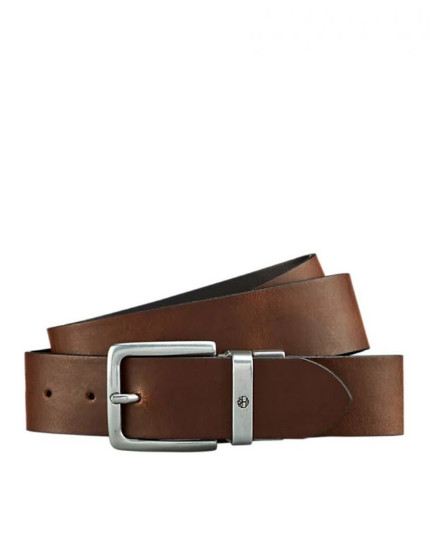 TIMBERLAND New Reversible Leather Belt Black - A19VN-001 - 2