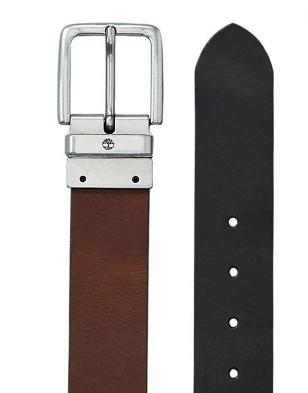 TIMBERLAND New Reversible Leather Belt Black - A19VN-001 - 3
