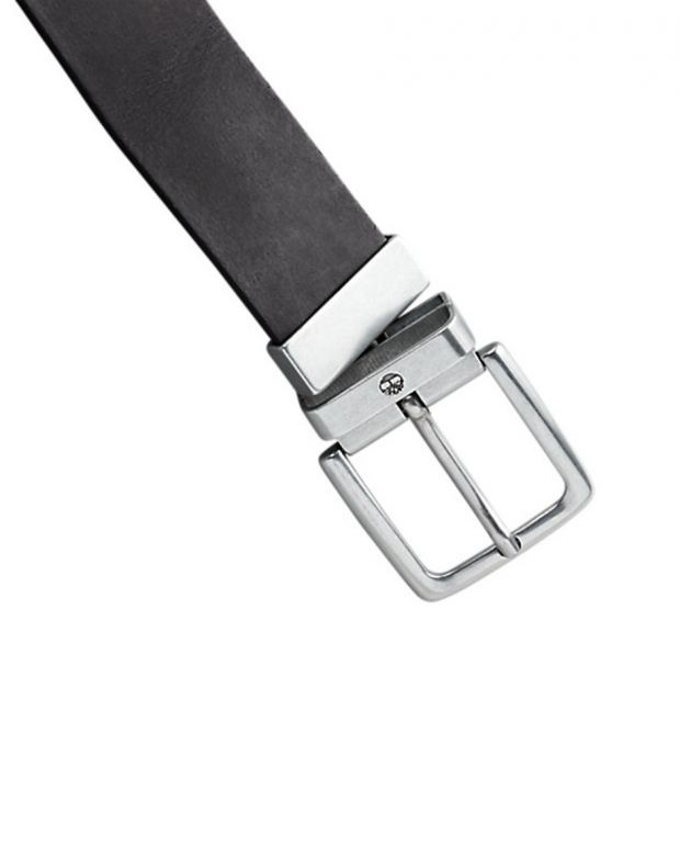TIMBERLAND New Reversible Leather Belt Black - A19VN-001 - 4
