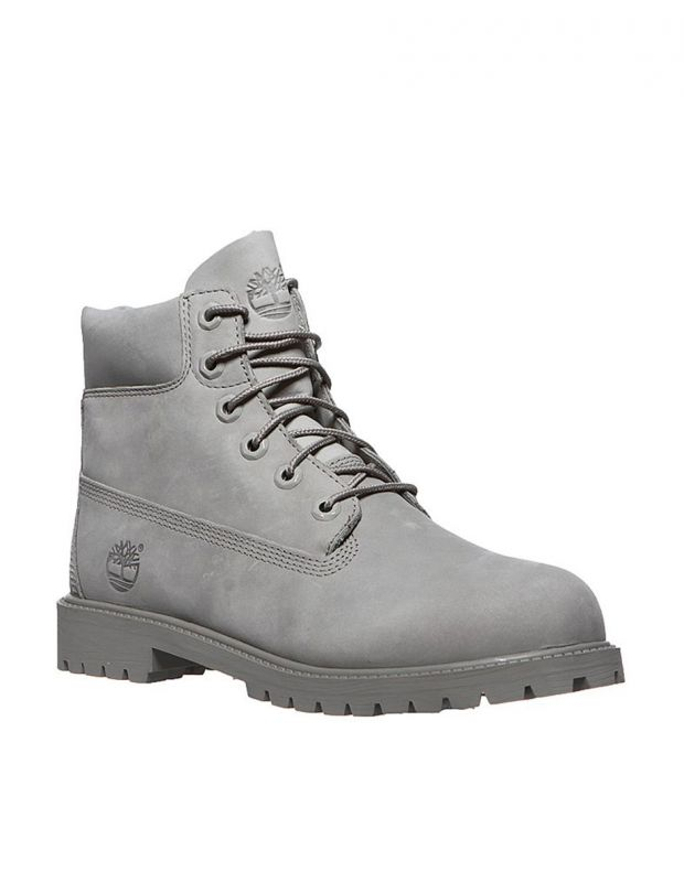 TIMBERLAND Premium 6-inch Waterproof Boots Grey - A172F - 3