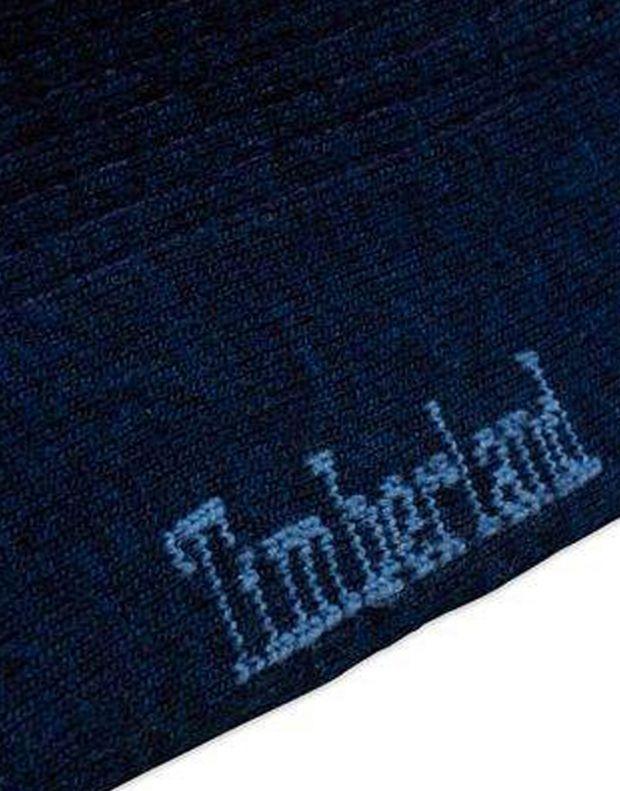 TIMBERLAND Premium Wool Ribbed Crew Socks Navy - A17KK-145 - 2