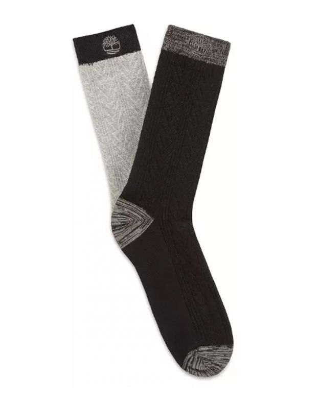 TIMBERLAND Two Pair Pack Of Crew Socks - 1