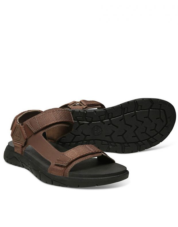 TIMBERLAND Windham Trail Sandals Brown - TBOA1VVYD711 - 2
