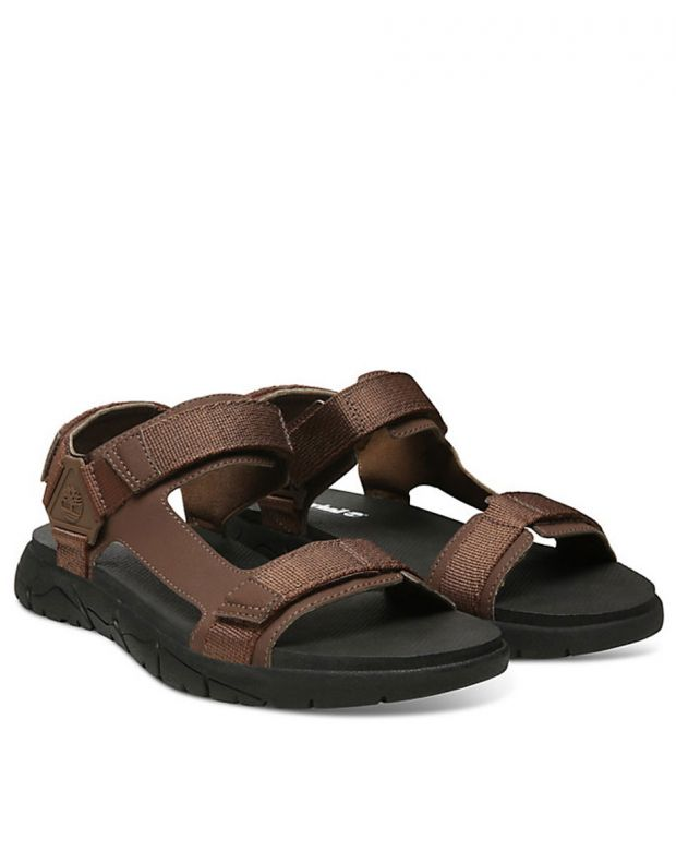 TIMBERLAND Windham Trail Sandals Brown - TBOA1VVYD711 - 3