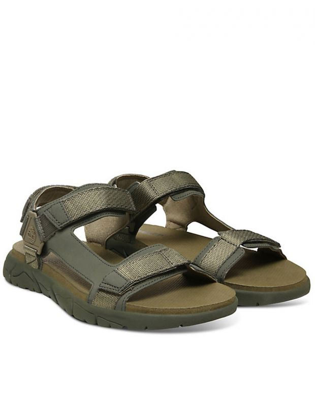 TIMBERLAND Windham Trail Sandals Olive - TB0A1V5KA581 - 3