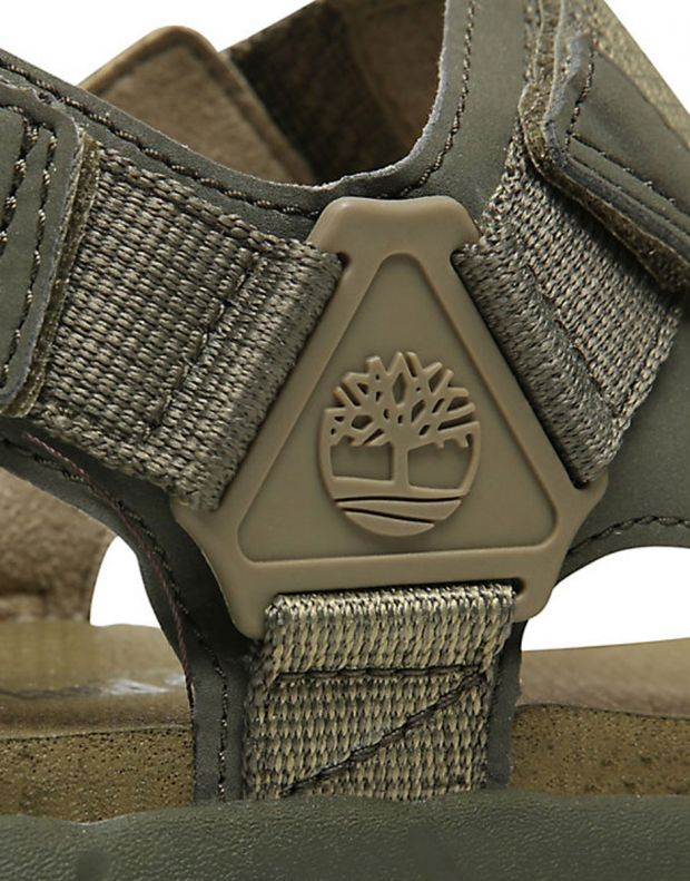 TIMBERLAND Windham Trail Sandals Olive - TB0A1V5KA581 - 6