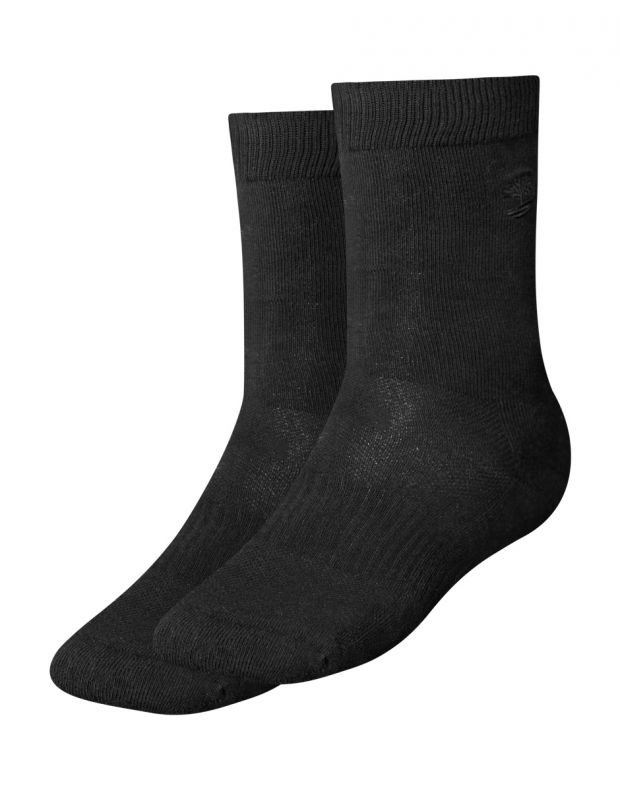 TIMBERLAND Winthrop Crew Socks Black - A1852-001 - 1