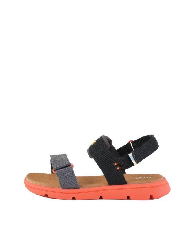 TOMS Solid Webbing Sandal Black - 10013354 - 1