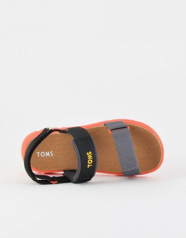 TOMS Solid Webbing Sandal Black - 10013354 - 3