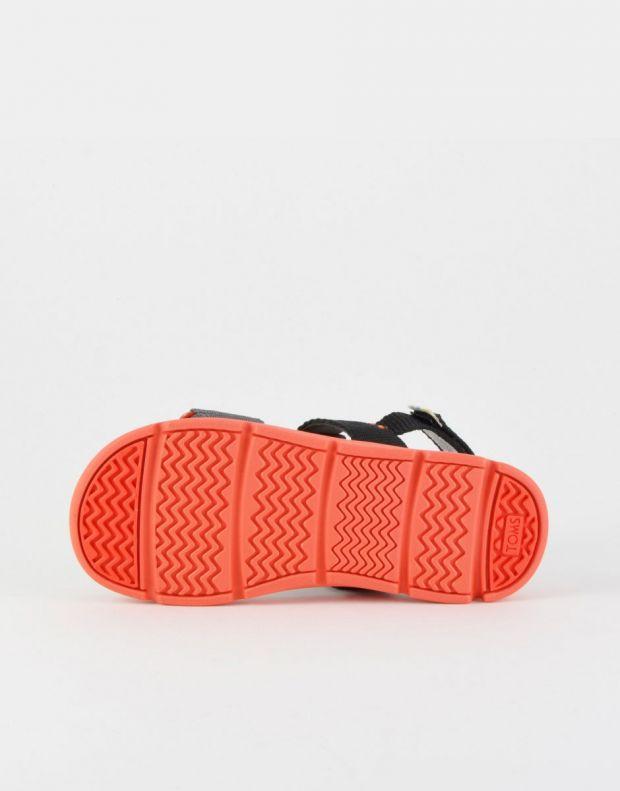 TOMS Solid Webbing Sandal Black - 10013354 - 4
