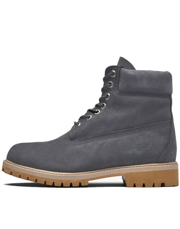 TIMBERLAND 6-Inch Premium Waterproof Boot Grey - A1YPP - 1