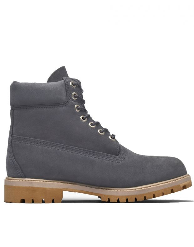 TIMBERLAND 6-Inch Premium Waterproof Boot Grey - A1YPP - 2
