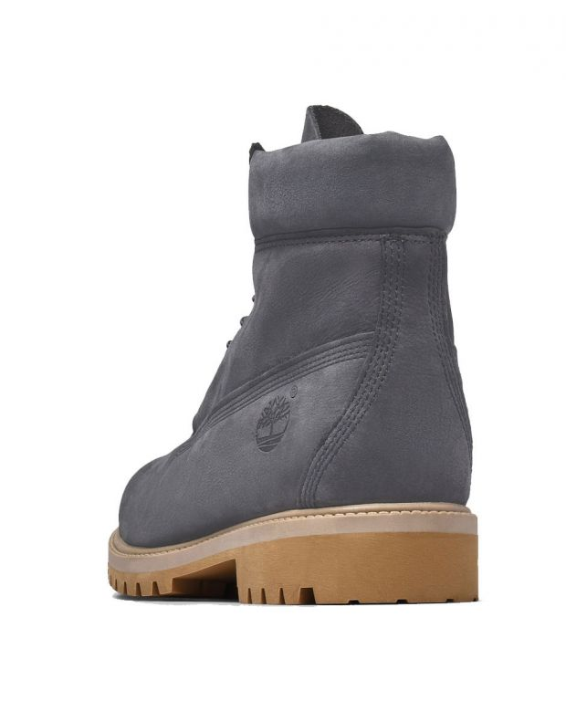 TIMBERLAND 6-Inch Premium Waterproof Boot Grey - A1YPP - 3