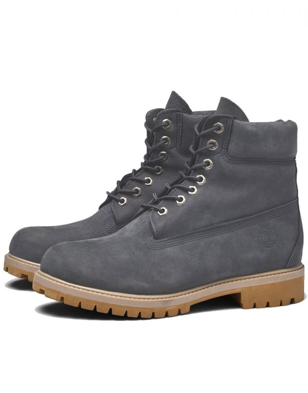 TIMBERLAND 6-Inch Premium Waterproof Boot Grey - A1YPP - 5