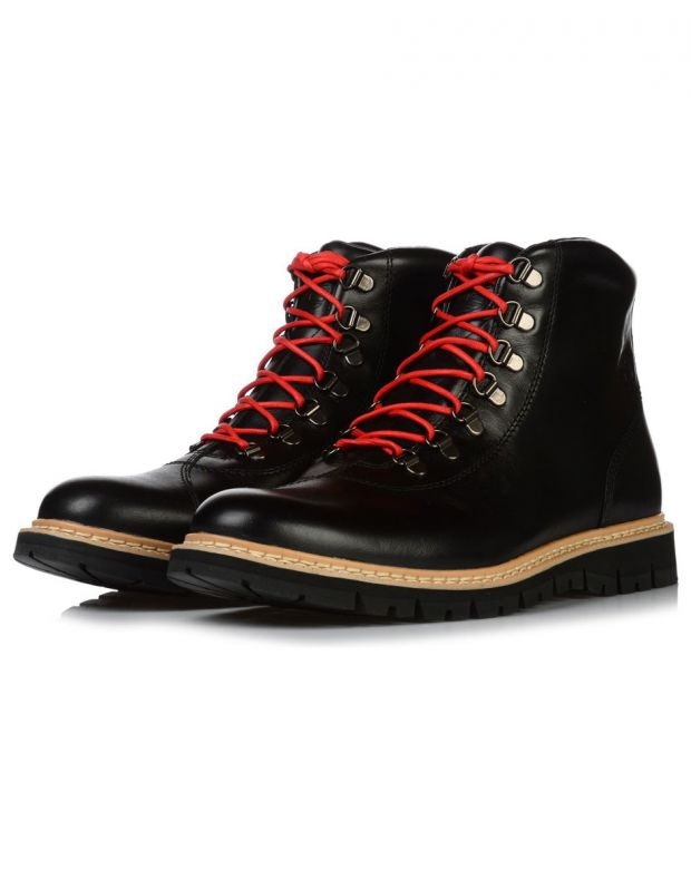 TIMBERLAND Britton Hill Alpine Hiker Boots Black - A1SCX - 2
