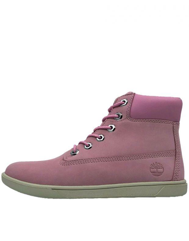 TIMBERLAND Groveton 6-Inch Lace Zip Nubuck Pink - A1P6D - 1