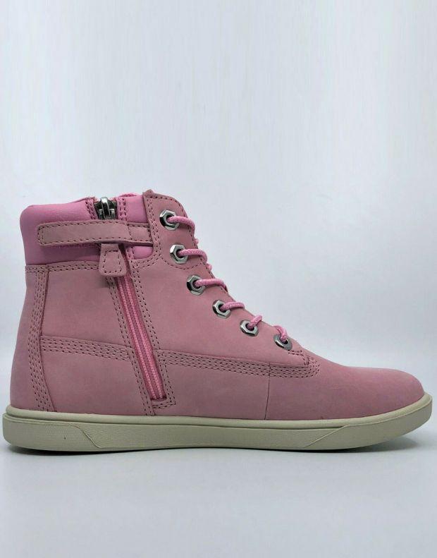 TIMBERLAND Groveton 6-Inch Lace Zip Nubuck Pink - A1P6D - 2