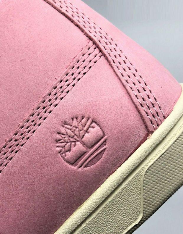 TIMBERLAND Groveton 6-Inch Lace Zip Nubuck Pink - A1P6D - 6
