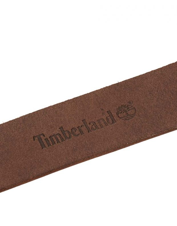 TIMBERLAND Leather Keeper Belt Brown - A1CP6-214 - 3