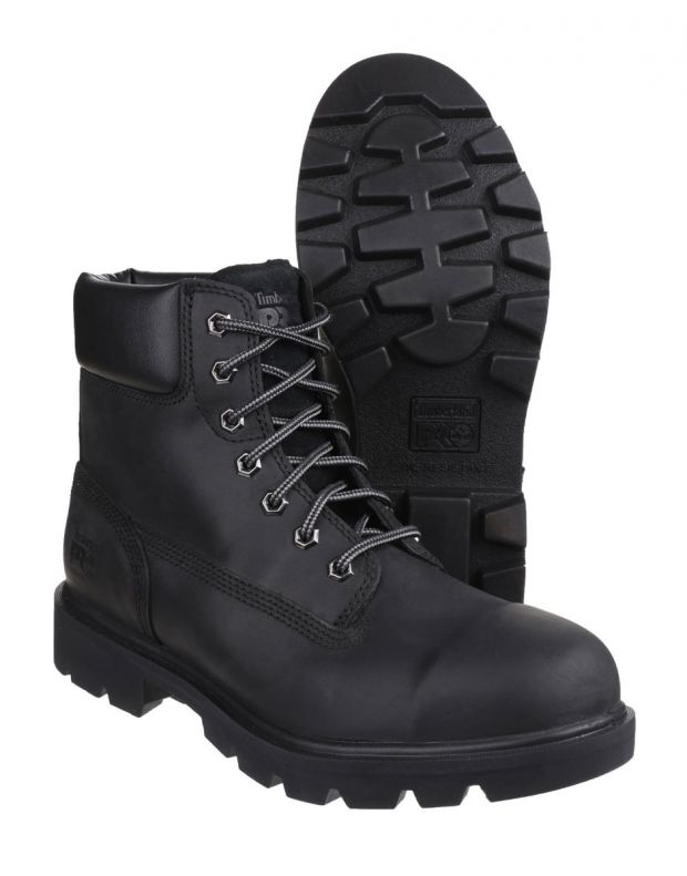 TIMBERLAND Pro Safety Steel Toe Cap Boots Black - A1I2A - 4