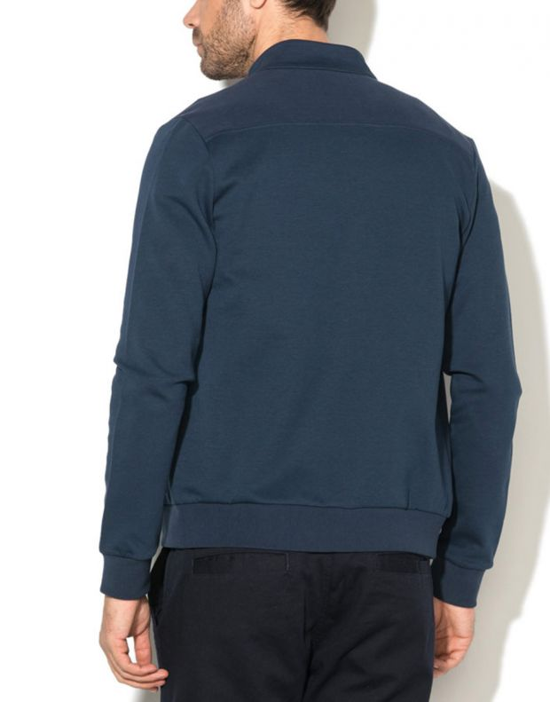 LE COQ SPORTIF Essentiels Full Zip Sweatsthirt Blue - 2