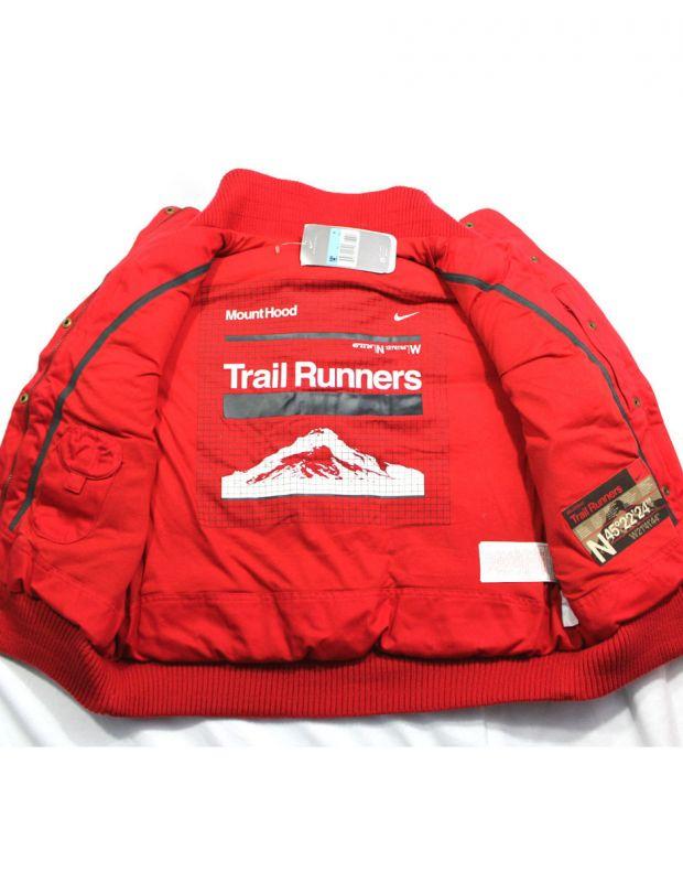 NIKE Trail Runner Padded Gilet Red - 4