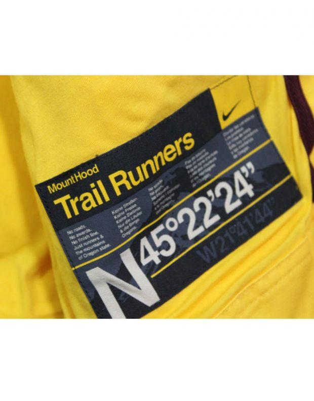 NIKE Trail Runner Padded Gilet Yellow - 5