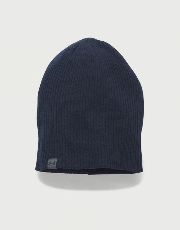 UNDER ARMOUR 4-in-1 Beanie Hat Grey - 1300077-040 - 2