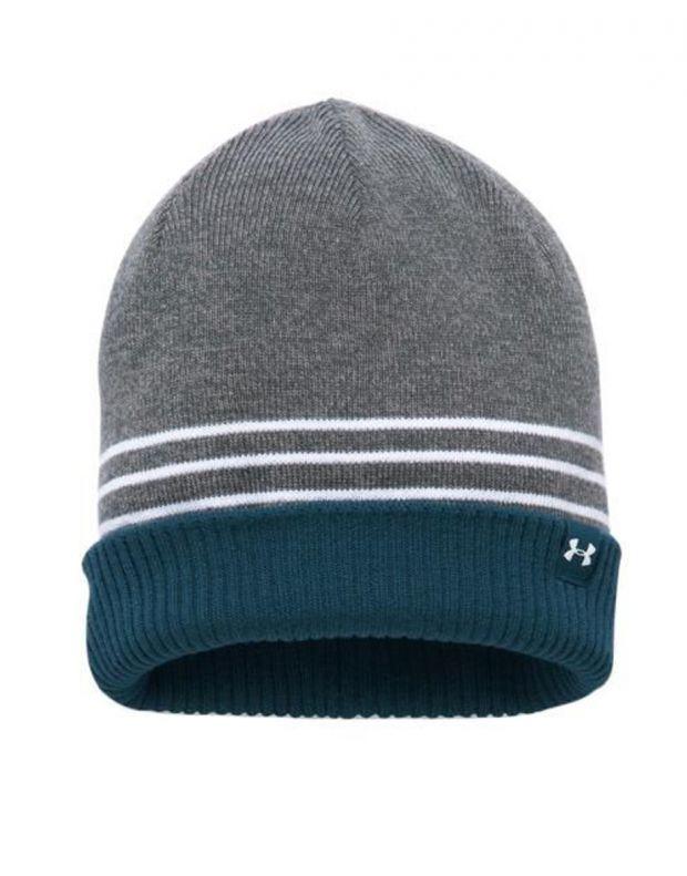 UNDER ARMOUR 4-in-1 Beanie Hat L.Grey - 1300077-041 - 1