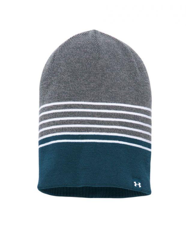 UNDER ARMOUR 4-in-1 Beanie Hat L.Grey - 1300077-041 - 2
