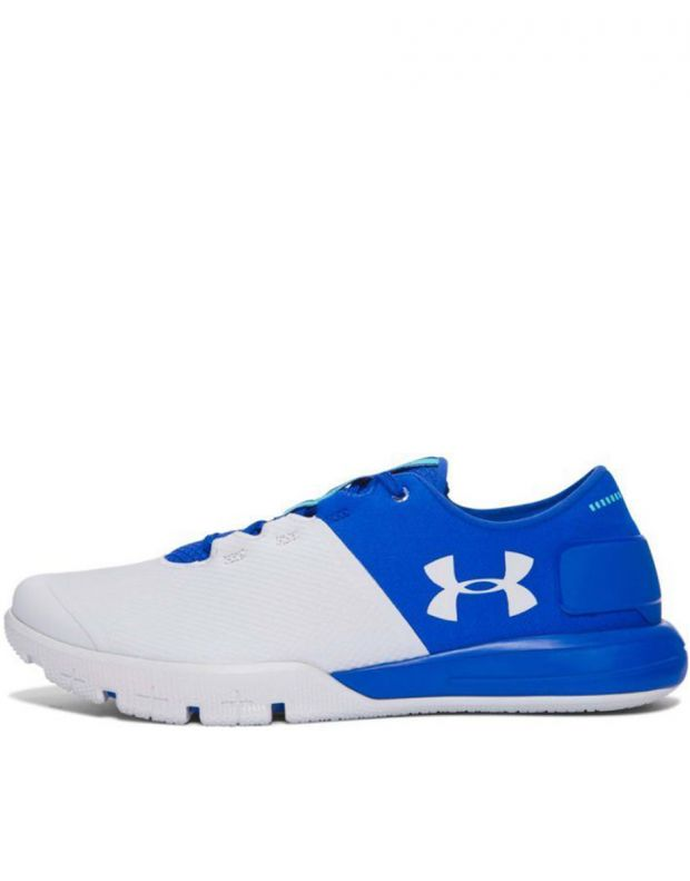 UNDER ARMOUR Charged Ultimate White & Blue - 1