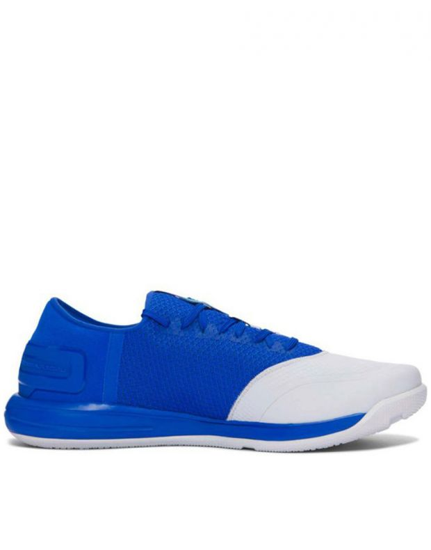 UNDER ARMOUR Charged Ultimate White & Blue - 2