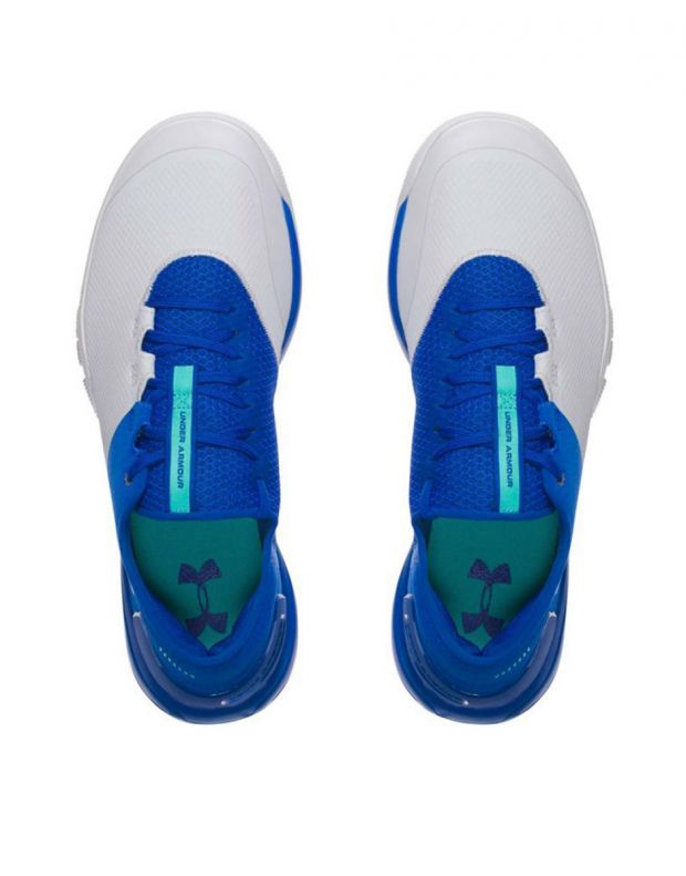 UNDER ARMOUR Charged Ultimate White & Blue - 3