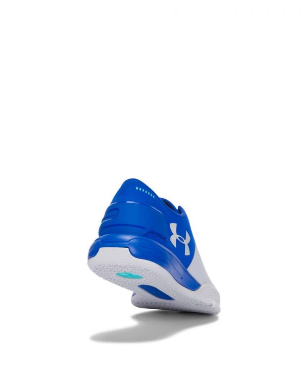 UNDER ARMOUR Charged Ultimate White & Blue - 5