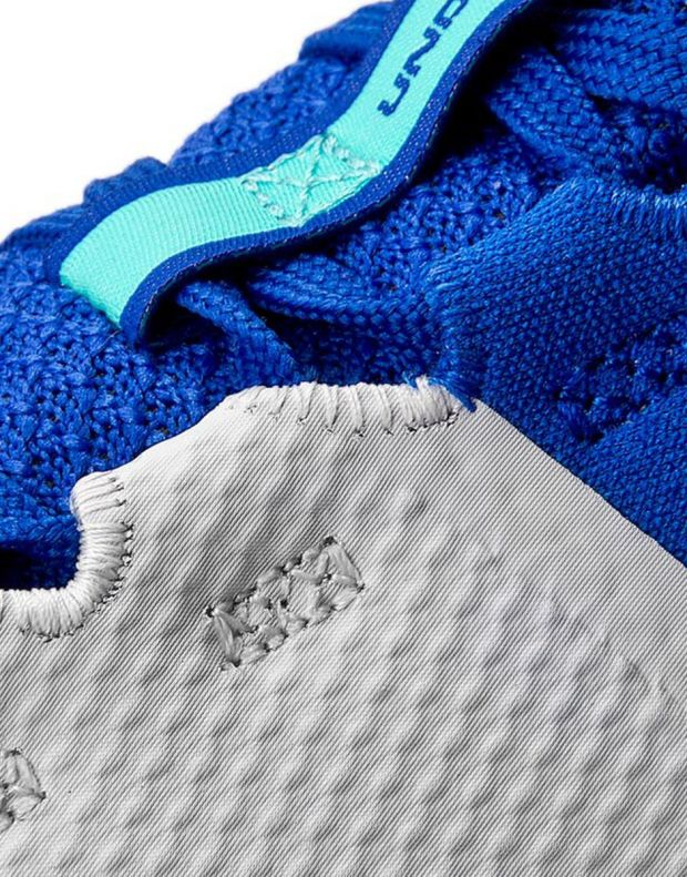UNDER ARMOUR Charged Ultimate White & Blue - 6