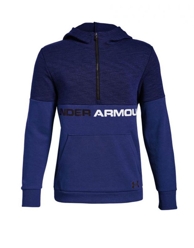 UNDER ARMOUR Unstoppable Double Knit Hoody Navy - 1318235-400 - 1
