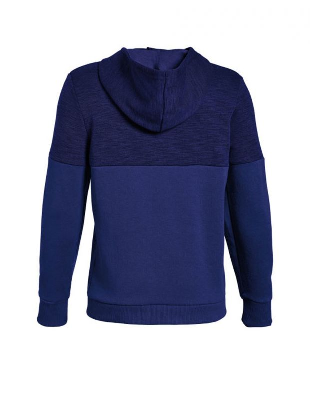 UNDER ARMOUR Unstoppable Double Knit Hoody Navy - 1318235-400 - 2