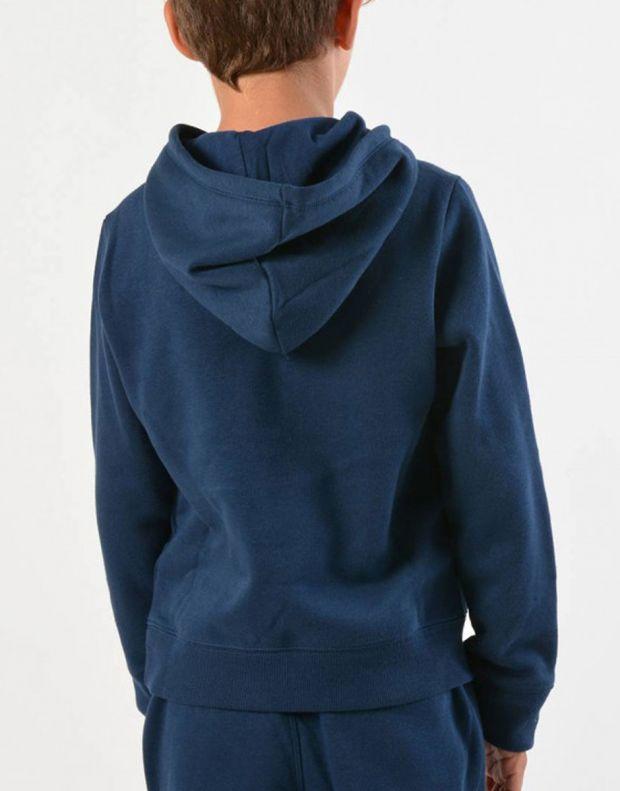 UNDER ARMOUR Eu Cotton Fleece Hoody Navy - 1320134-408 - 2