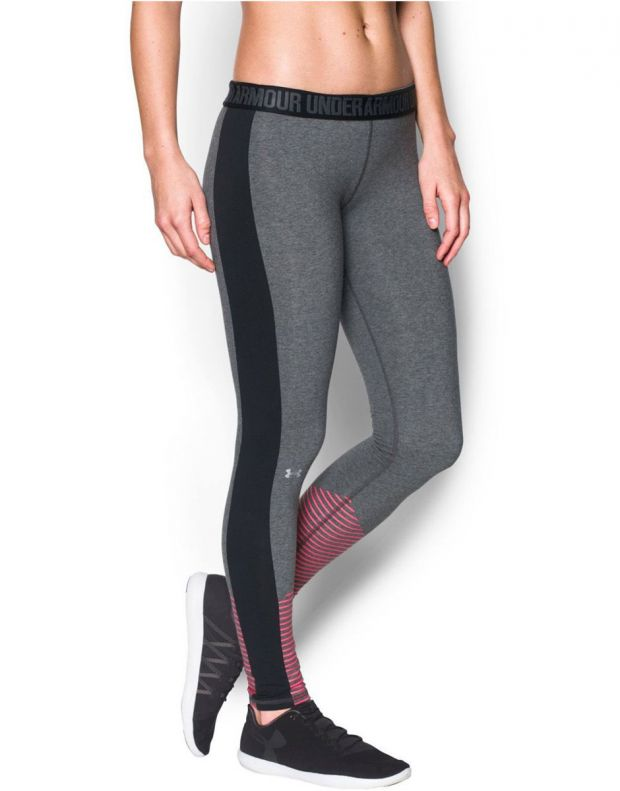 UNDER ARMOUR Favorite Graphic Leggings Grey - 1