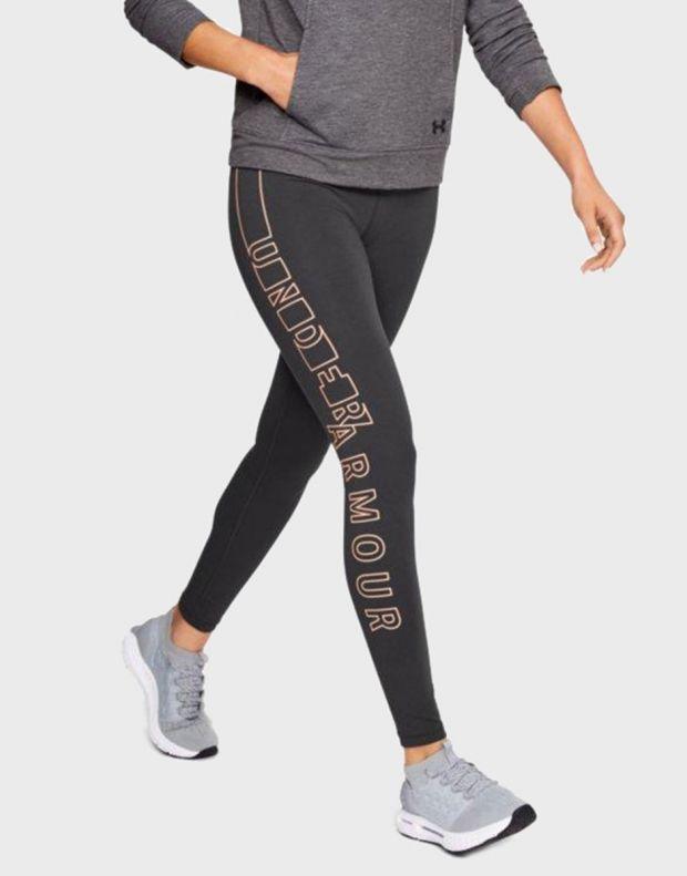 UNDER ARMOUR Favorite Graphic Leggings Anthra - 1317885-020 - 3