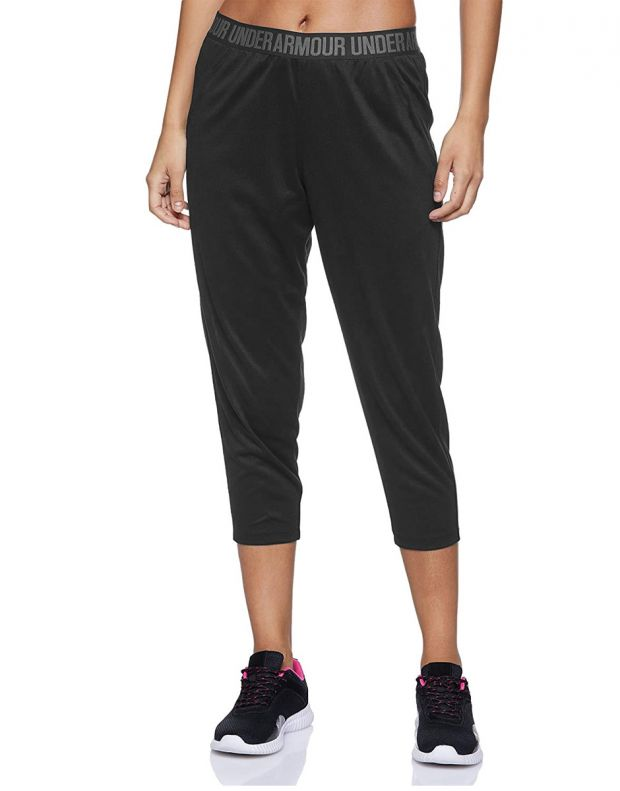 UNDER ARMOUR Featherweight Cropped Fleece Joggers Black  - 1298445-001 - 1