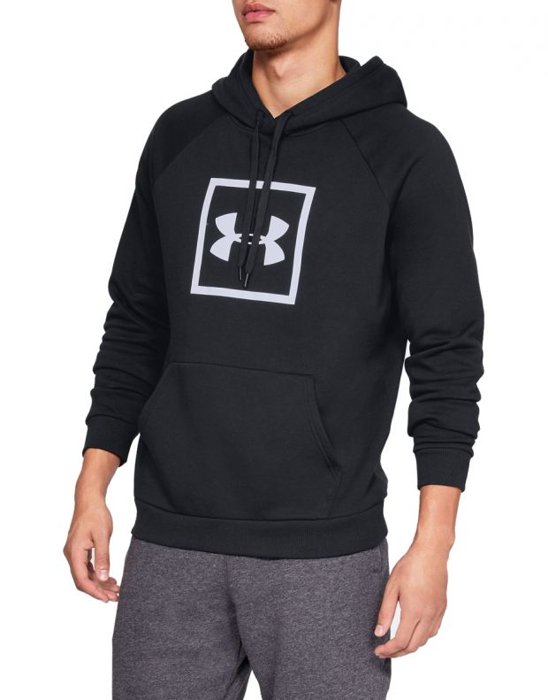 UNDER ARMOUR Fleece Logo Black - 1329745-001 - 1