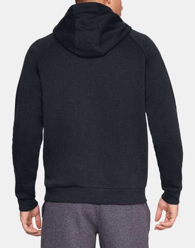 UNDER ARMOUR Fleece Logo Black - 1329745-001 - 2