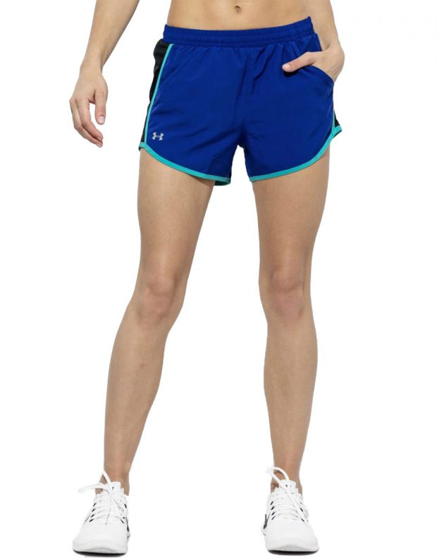 UNDER ARMOUR Fly By Shorts Blue - 1297125-574 - 1
