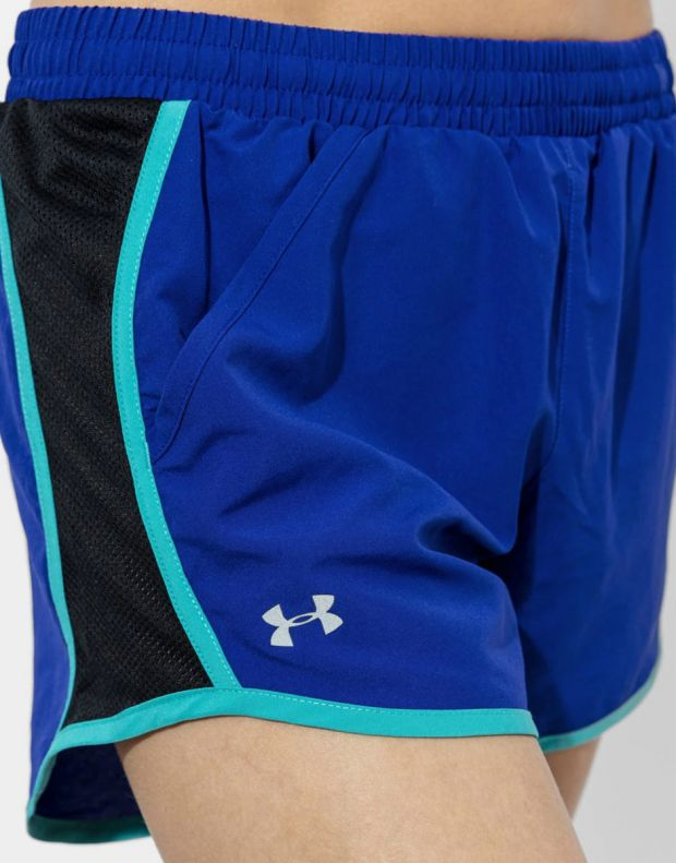UNDER ARMOUR Fly By Shorts Blue - 1297125-574 - 4