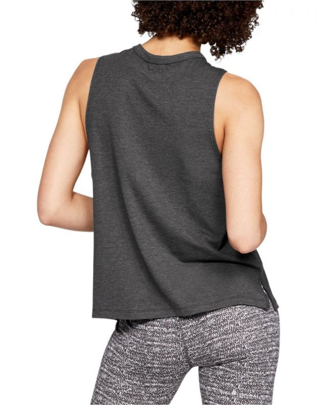 UNDER ARMOUR Graphic Girl Boss Muscle Tank Grey - 1329544-019 - 2