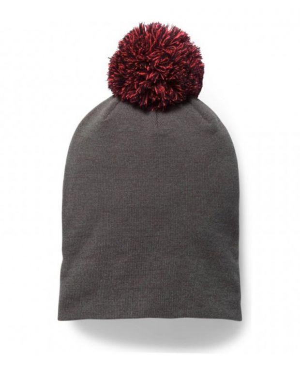 UNDER ARMOUR Graphic Pom Beanie Hat Grey - 1299902-090 - 2