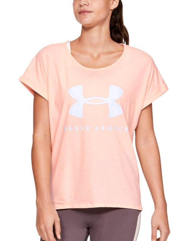 UNDER ARMOUR Graphic Sportstyle Tee Pink - 1347436-805 - 1
