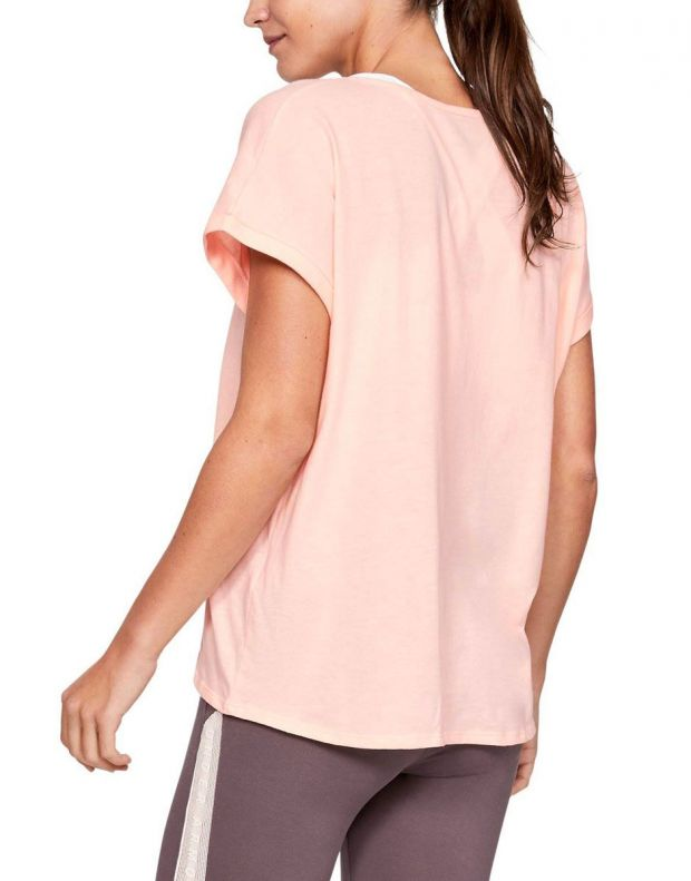 UNDER ARMOUR Graphic Sportstyle Tee Pink - 1347436-805 - 2